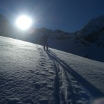 Auf dem Weg zur Murmentenkarspitze