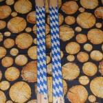 individuell gefertigte Holzski mit  Bayerndesign