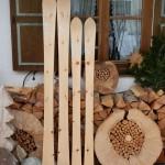 Partnerholzski aus Zirbe