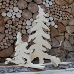 Handgemachte Holzdeko 2
