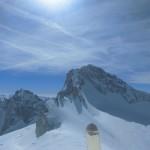 Ski als Brotzeitbrettl