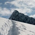 Frisch gespurt zur Murmentenkarspitze